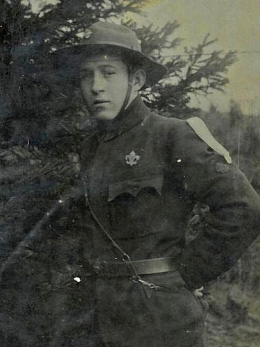 Ludvík Tomášek (vůdce 1. oddílu skautů v Žebráku)