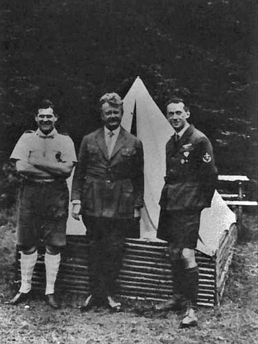Slovenská lesní škola na Krásně - Svatý Martin (srpen 1930)