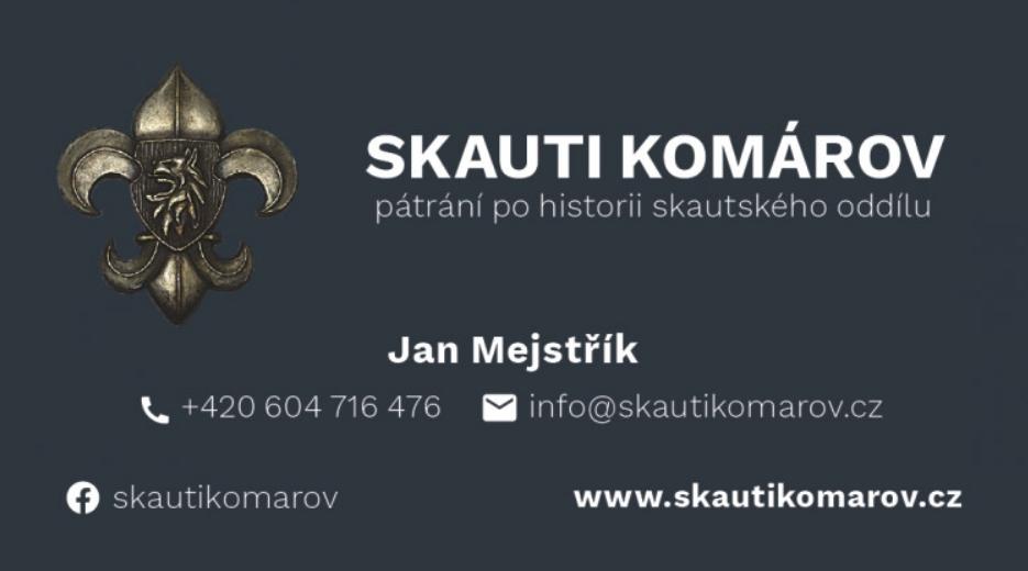 Skauti Komárov (kontaktní informace)
